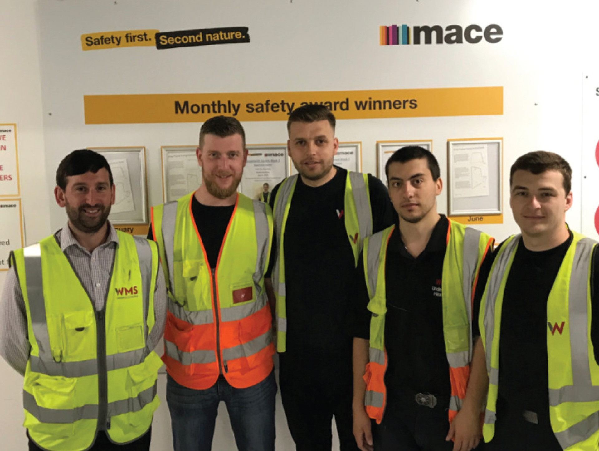 'Service Excellence' & 'Safety On Site' Award